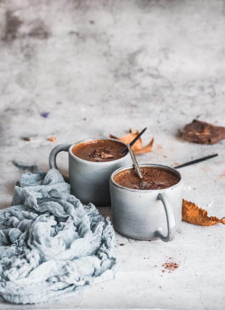 Dairy-free Hot Chocolate - Hello Veggie