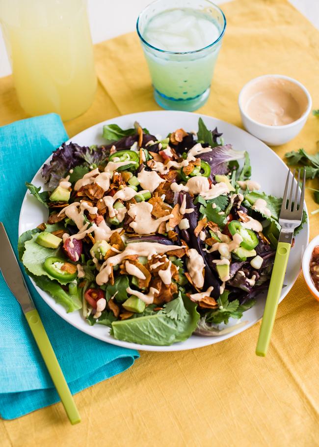 Southwest BLT Salad | Hello Glow