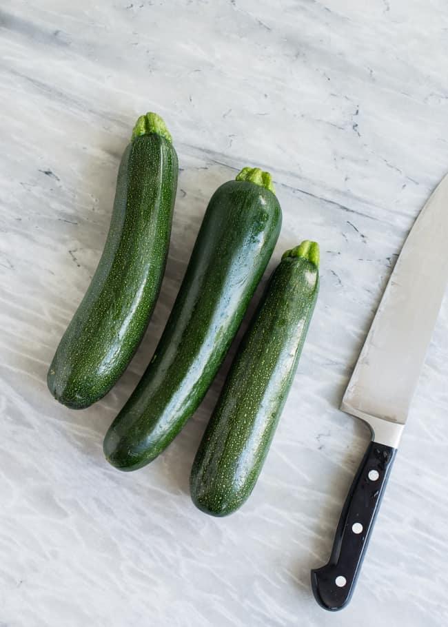 Zucchini 3 Ways - HelloVeggie.co