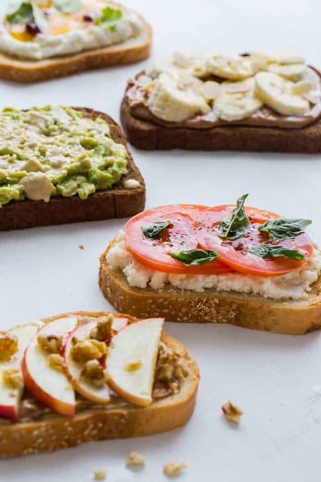 5 Tasty Healthy Toast Recipes to Try - Hello Veggie