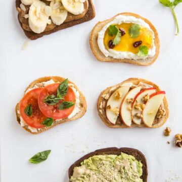 5 Tasty Toast Recipes to Try - HelloVeggie.co