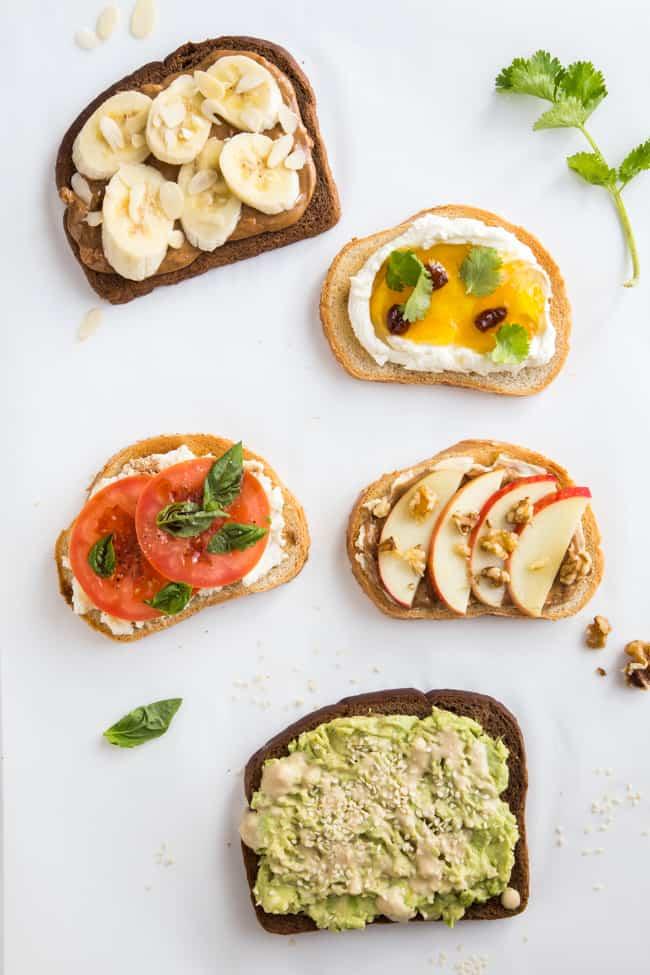 5 Tasty Healthy Toast Recipes to Try
