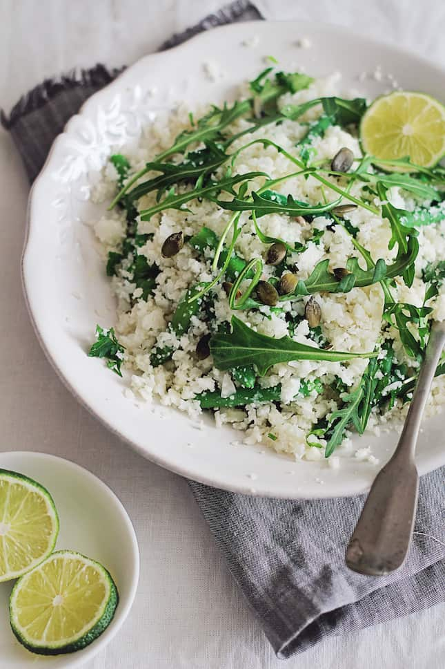 Spring Cauliflower Couscous