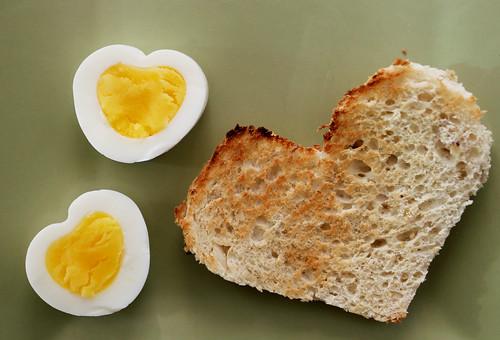 Heart-Boiled Eggs from Rad Megan