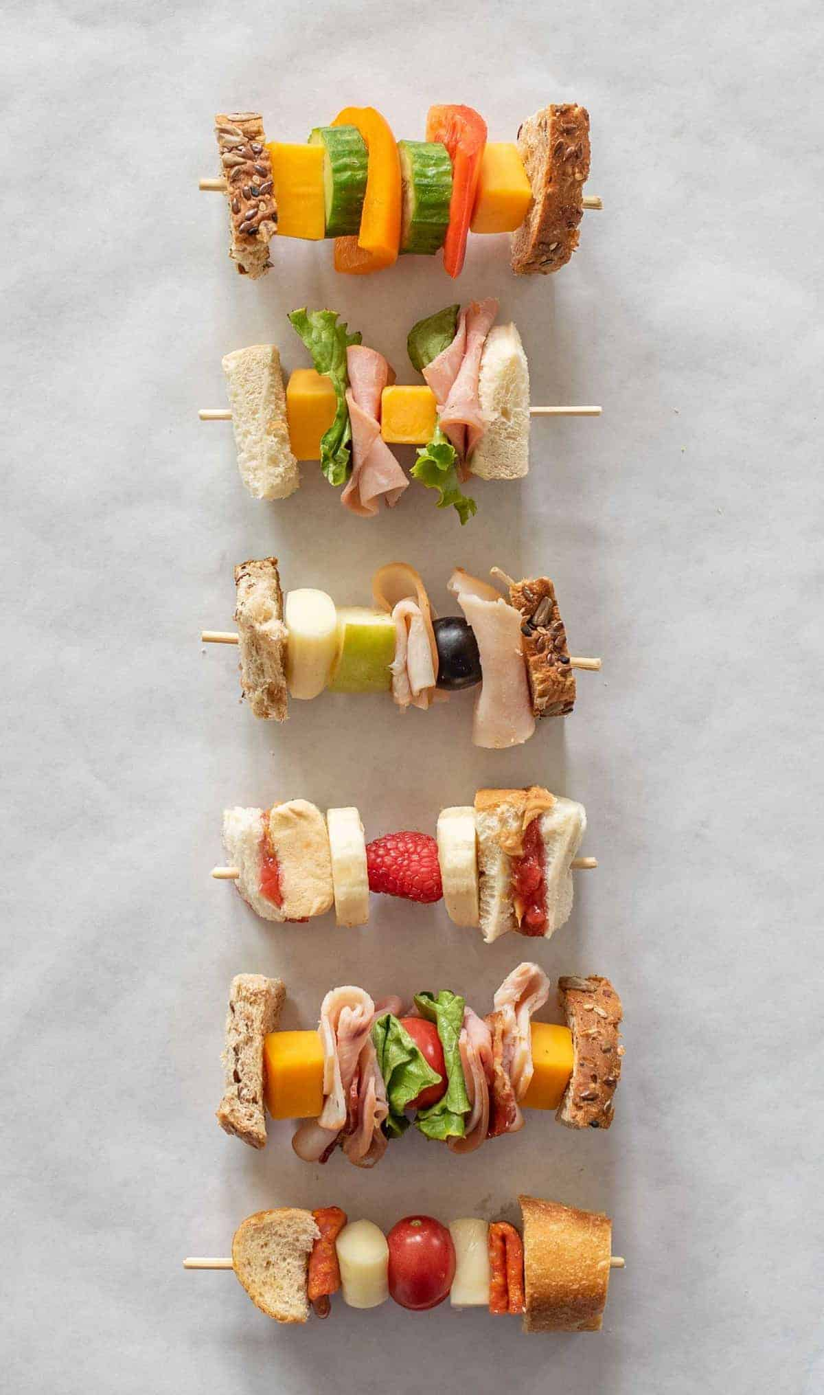 Sandwich on a Stick from Bless This Mess Please