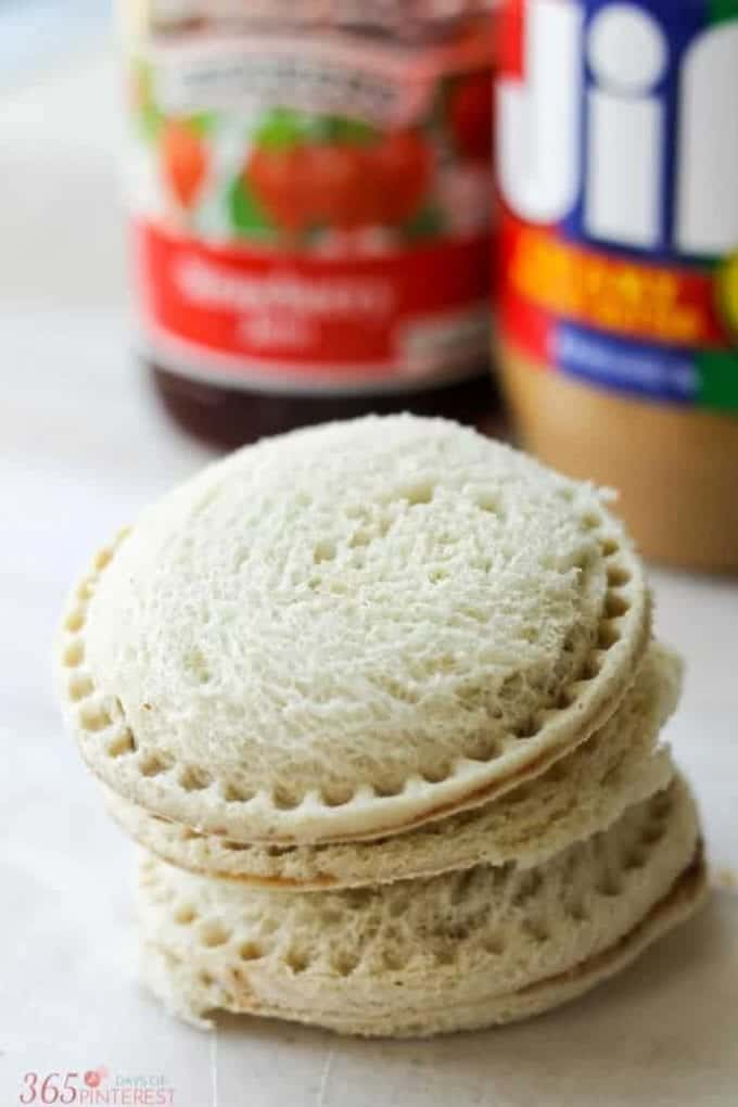 Uncrustable Freezer Sandwiches from Princess Pinky Girl
