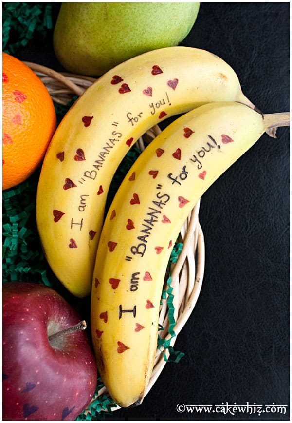 Fruit Messages from Cake Whiz