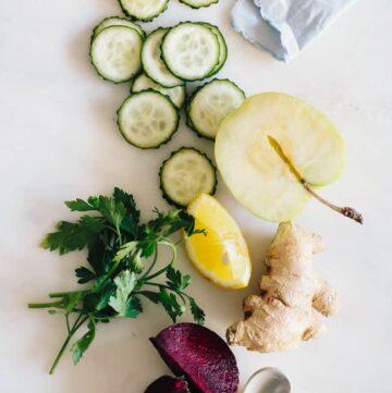 3 detox juice recipes - Hello Veggie