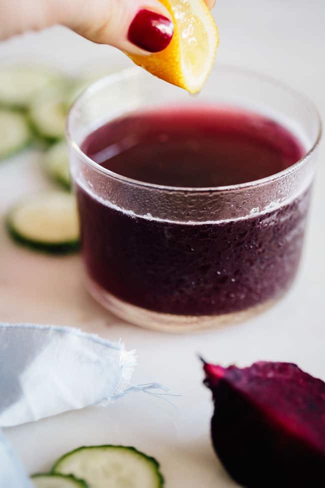 Beet Green Juice | 3 Detox Juices