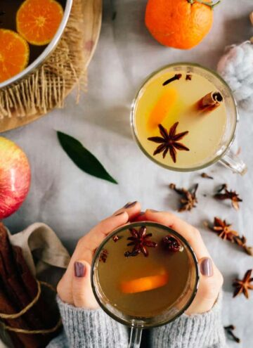 Mulled Apple Cider - Hello Veggie