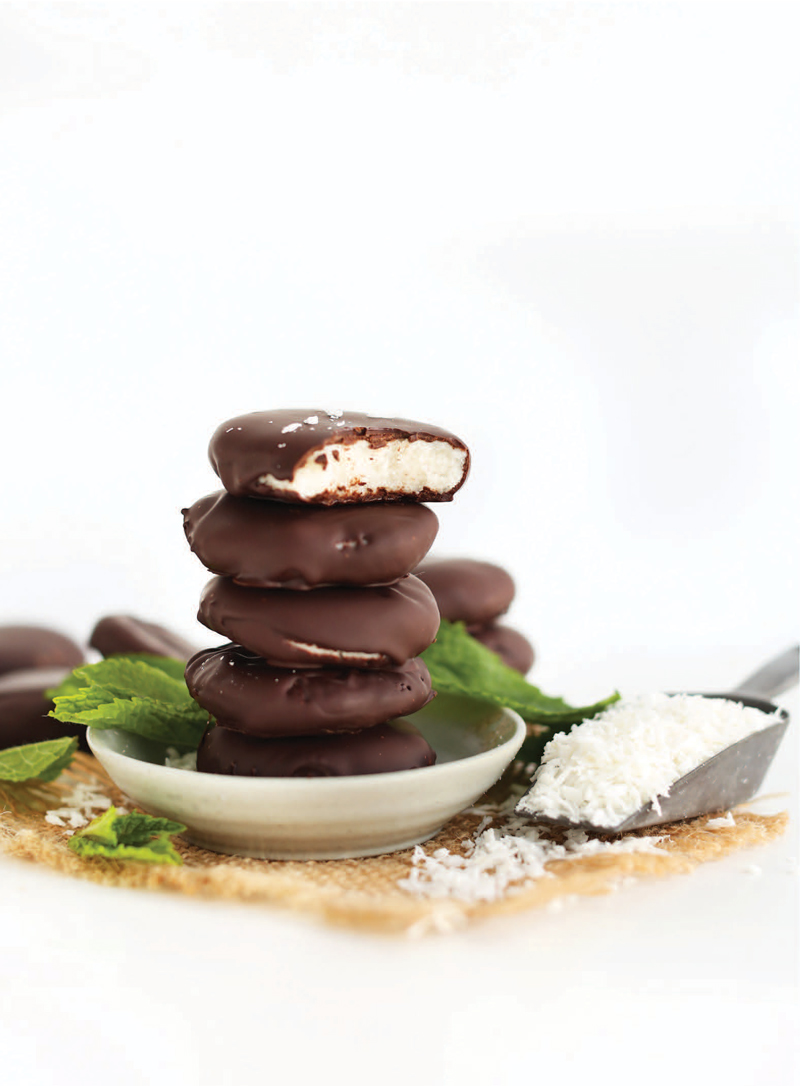 5-Ingredient Peppermint Patties