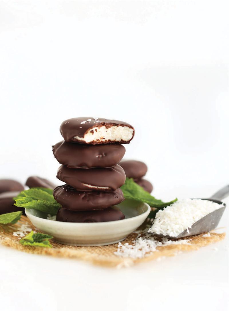 5-Ingredient Peppermint Patties