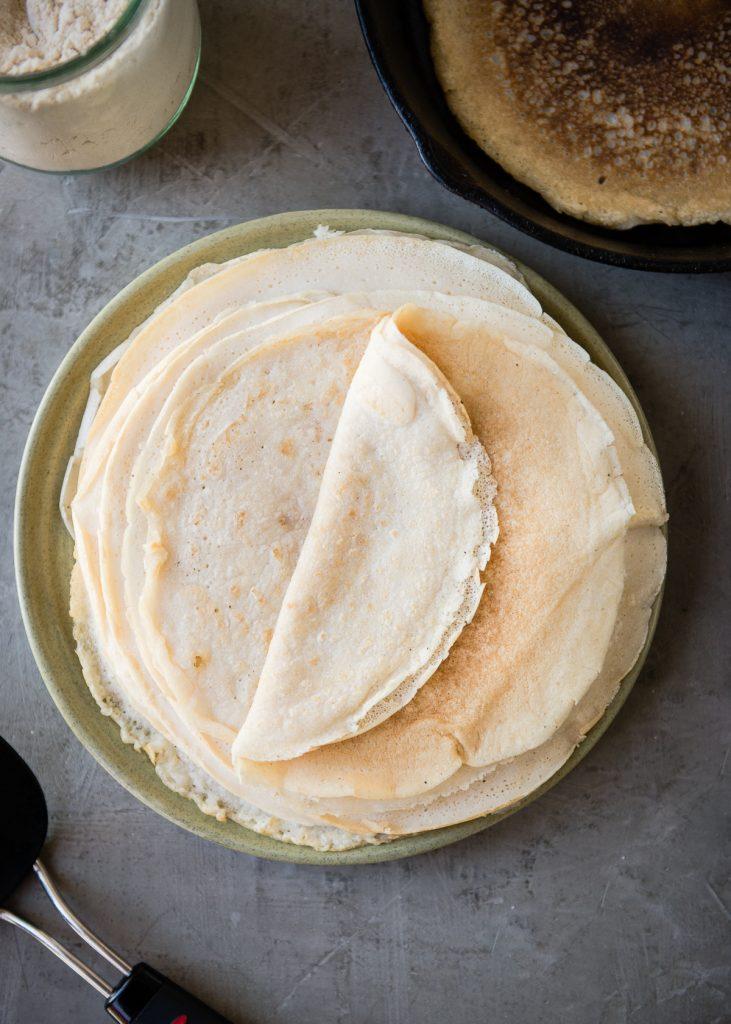 How To Make Grain-Free Coconut Tortillas | HelloGlow.co