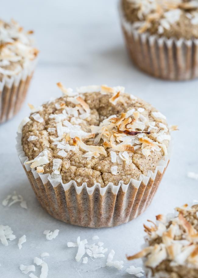 Gluten-Free Parsnip Morning Glory Blender Muffins