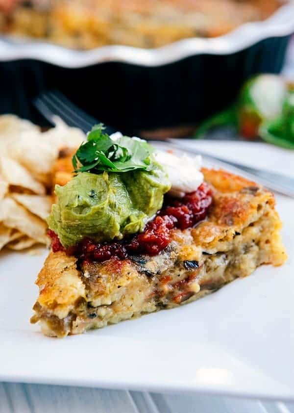 Roasted Green Chile Relleno Casserole from Some the Wiser - 7 Food Blogger Recipes That Are Staples in My Home