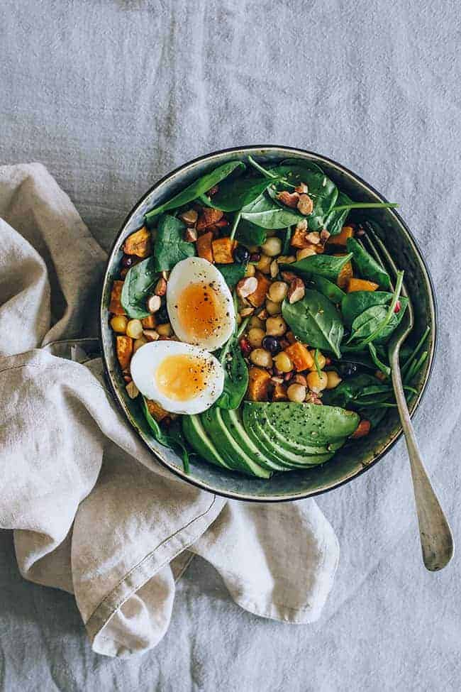 Nourishing Fall Protein Power Salad