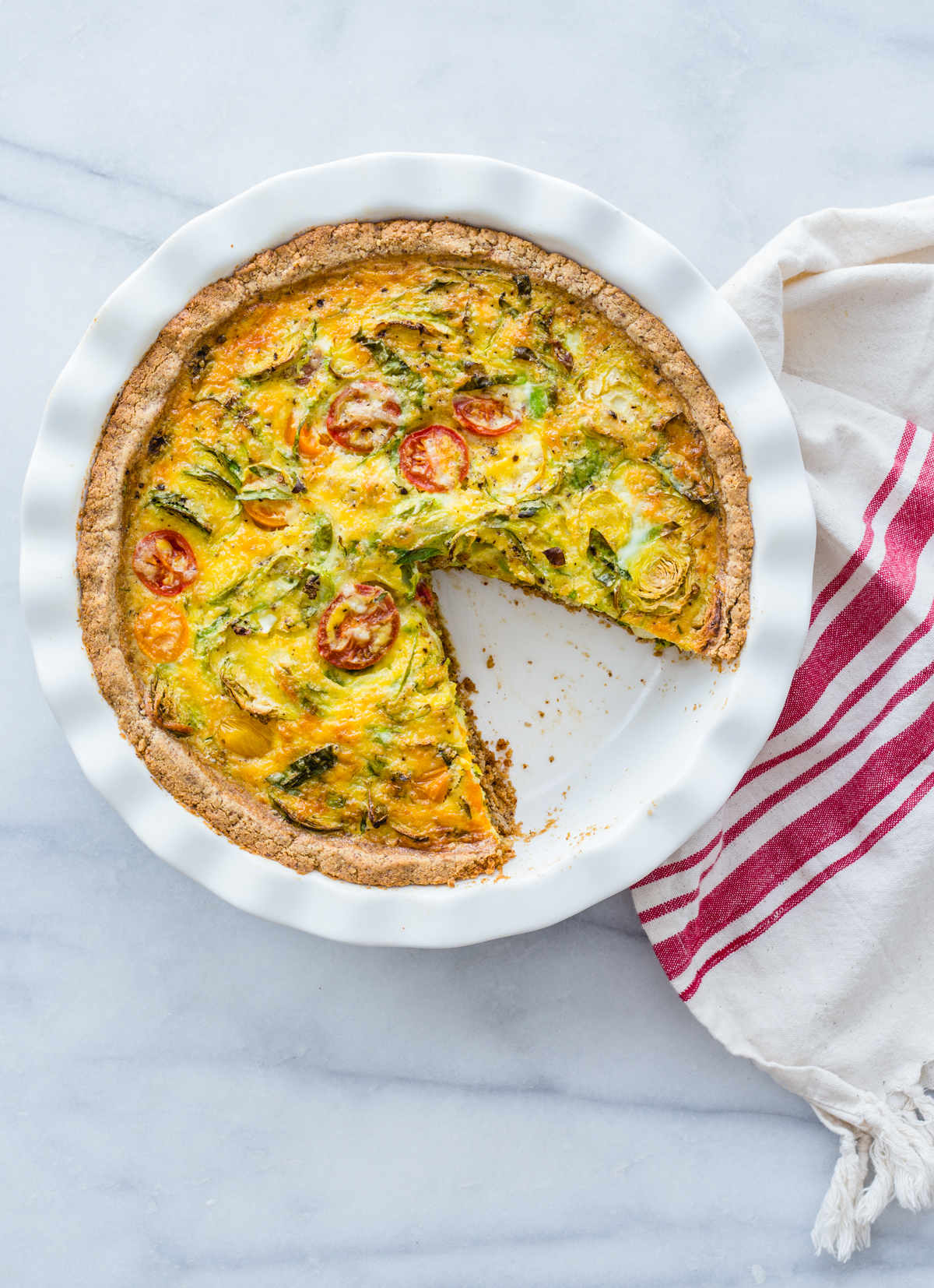 A Grain-Free, Keto Quiche Crust That Won't Disappoint