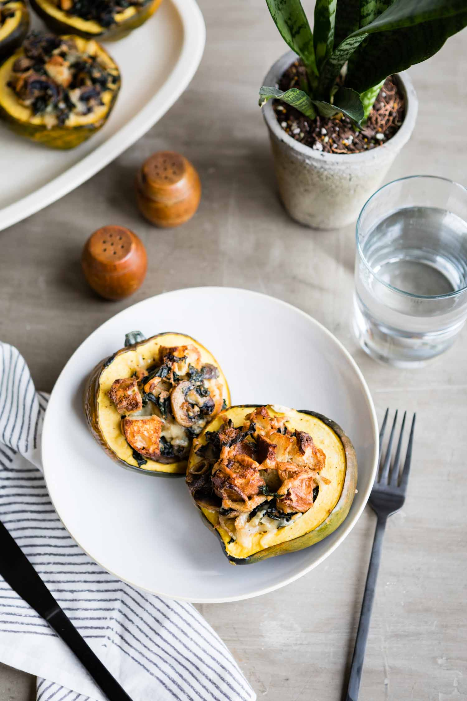 Acorn Squash Stuffed with Everything Good