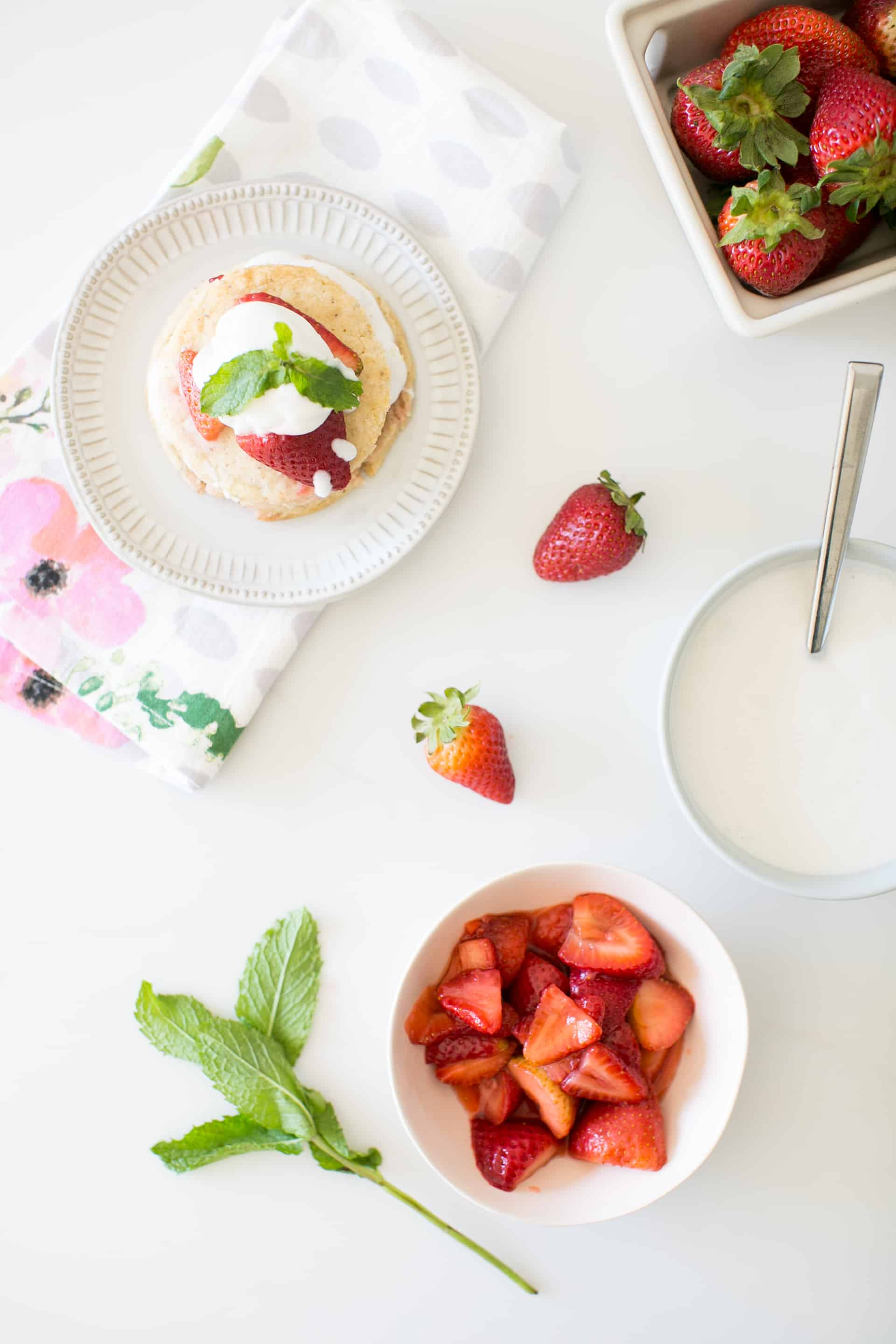 This Strawberry Maca Shortcake Will Be Your Go-To Summer Dessert