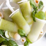 Basil Lychee Ice Pops