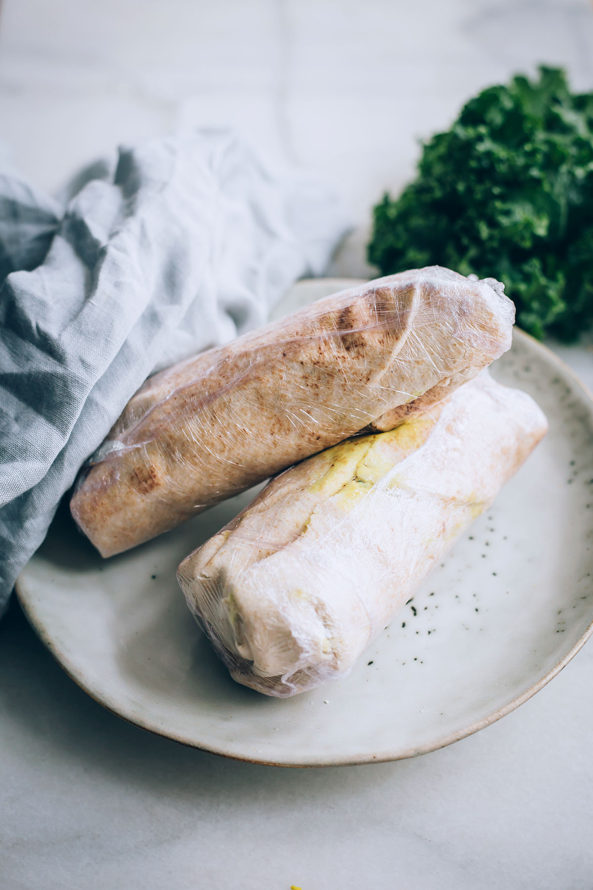 Make-and-Freeze Tofu Scramble Wraps for Busy Mornings