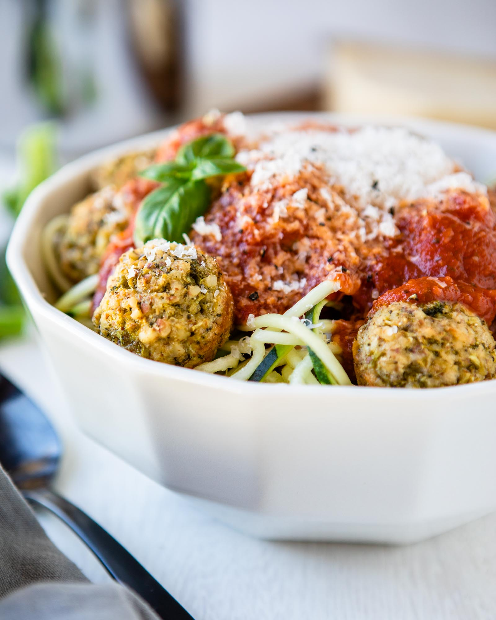 Our Favorite Meatless Meatballs - And Hey, They're Keto Too!