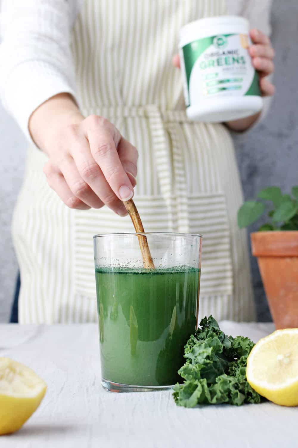 Kick Your Immune System Into High Gear With This Green Lemonade