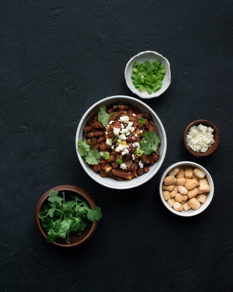 Vegetable and Heirloom Bean Chili
