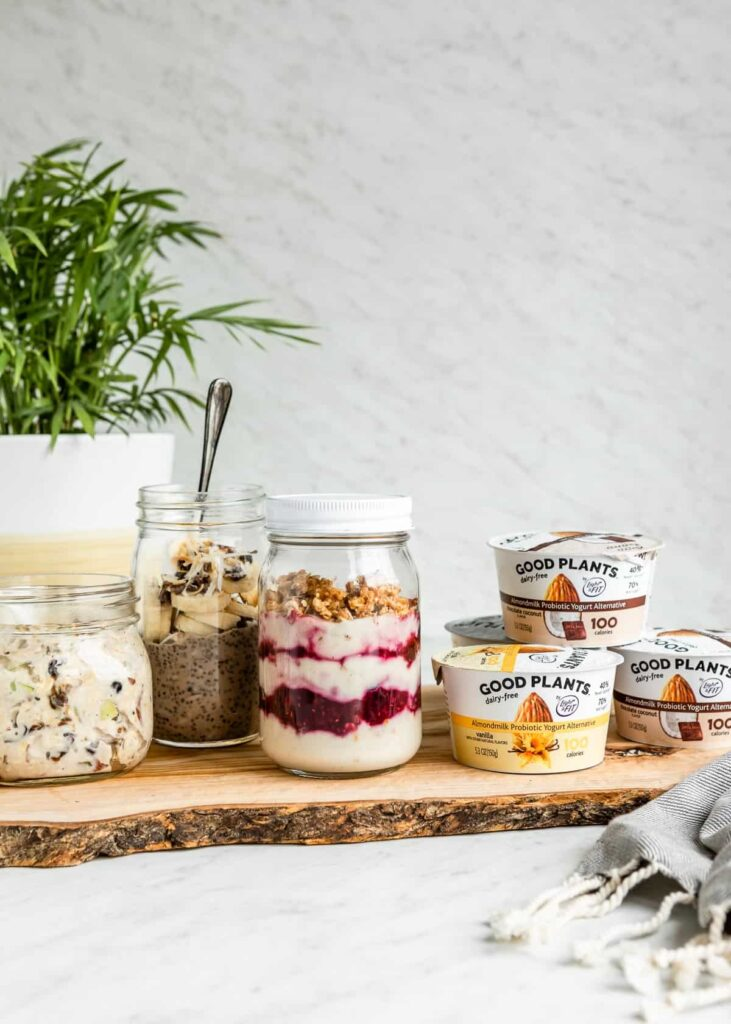 3 Easy Plant-Based Breakfasts You Can Make Now + Eat Later