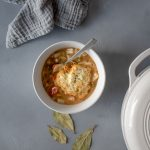 Vegetarian Chickpeas and Dumplings