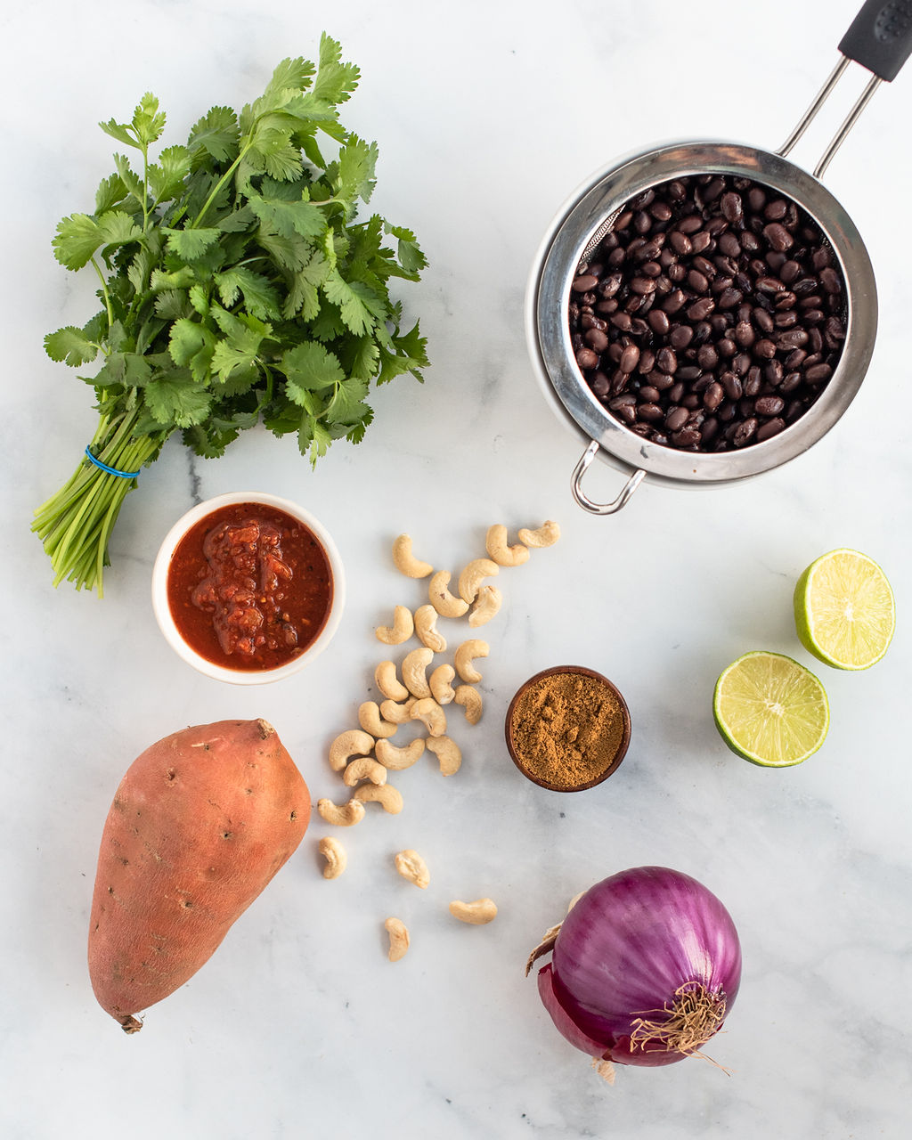 Black Bean and Cumin-Roasted Sweet Potato Tacos
