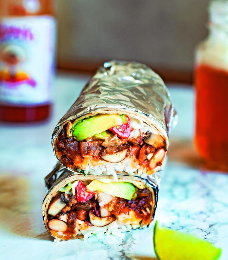 Street-Style Mushroom Barbacoa Burritos
