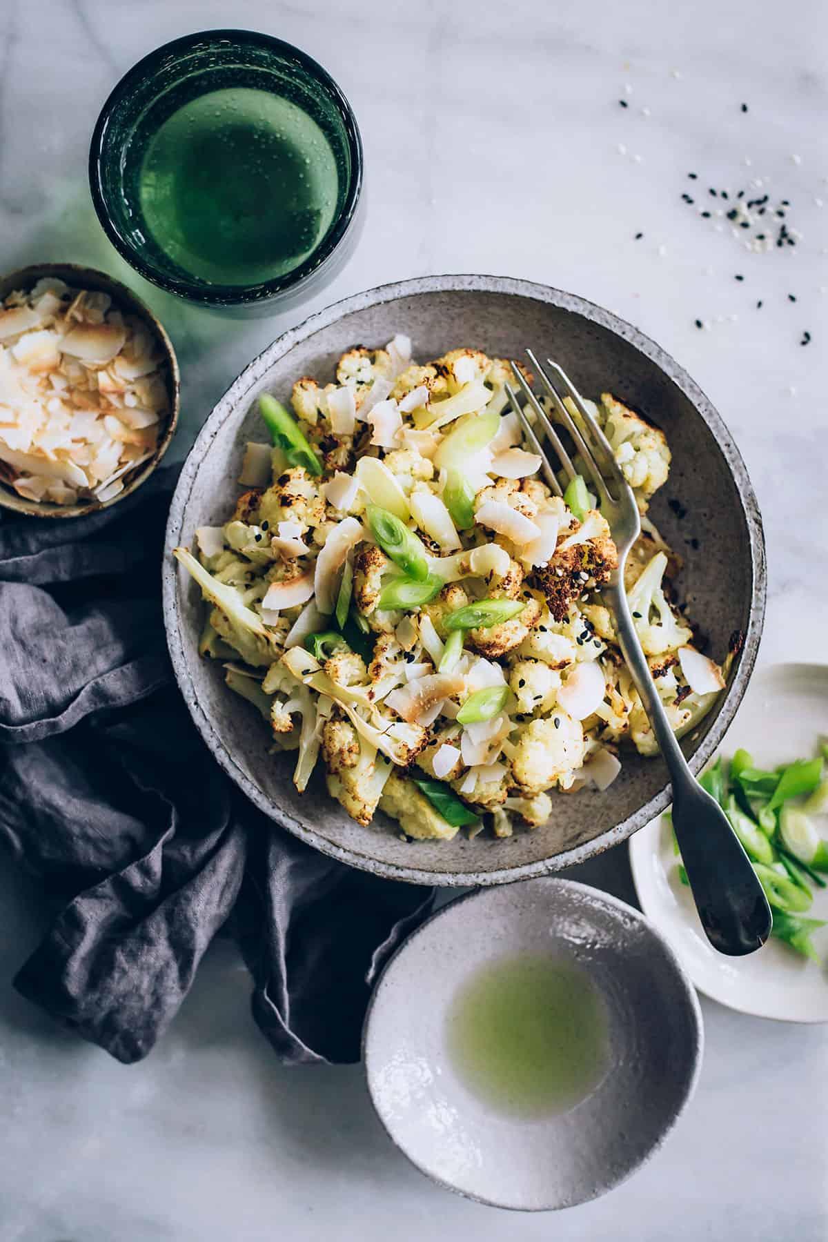 Roasted Cauliflower With Omega-3 Rich Algae Oil