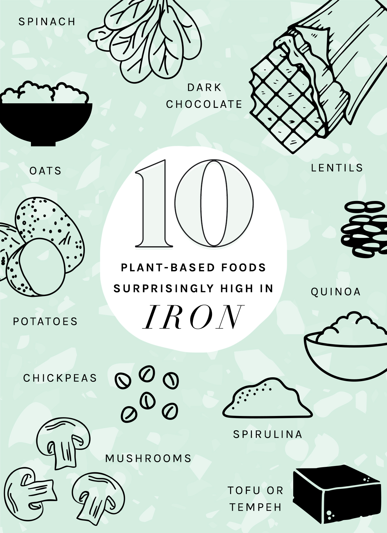 10 High Iron Vegan Foods