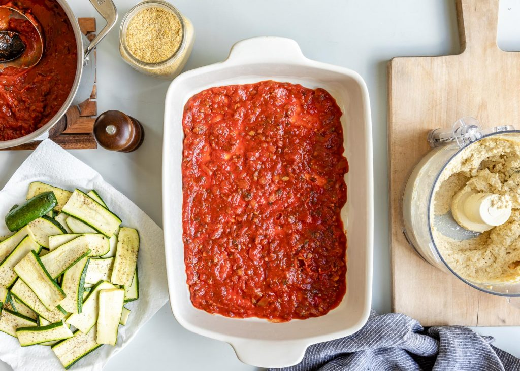 Vegan Zucchini Lasagna | HelloVeggie.co