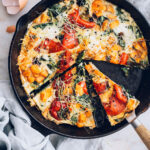 Easy Egg Bake Recipe with Roasted Autumn Veggies