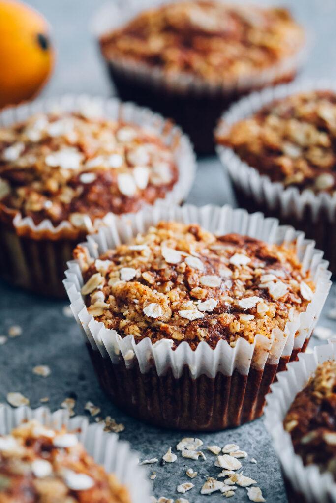 Gluten-Free Oatmeal Pumpkin Muffins