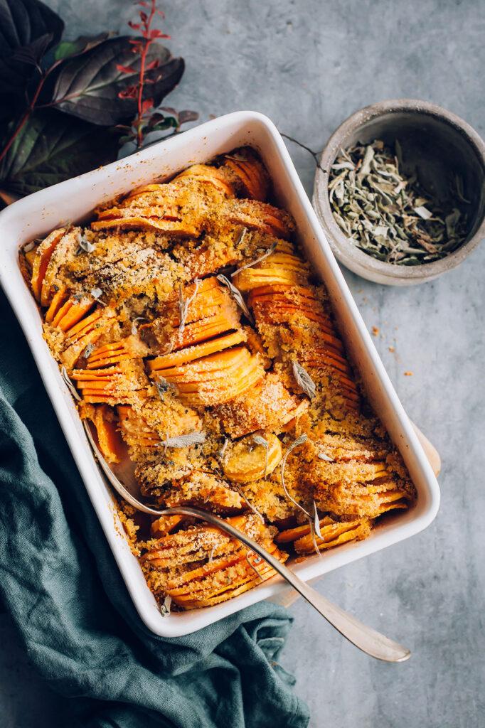 Sage-Infused Sweet Potato Casserole