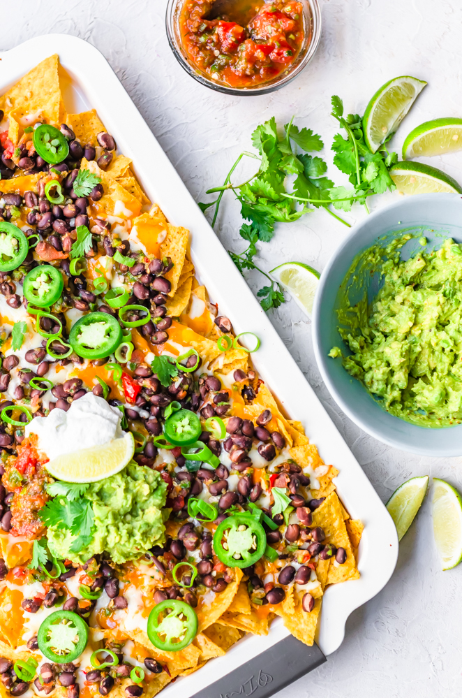 Smoky Chipotle Sheet Pan Nachos from Phenomenal Foods