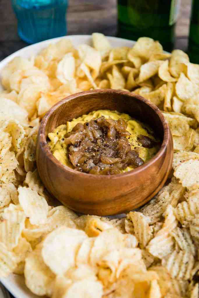 Pumpkin Caramelized Onion Dip