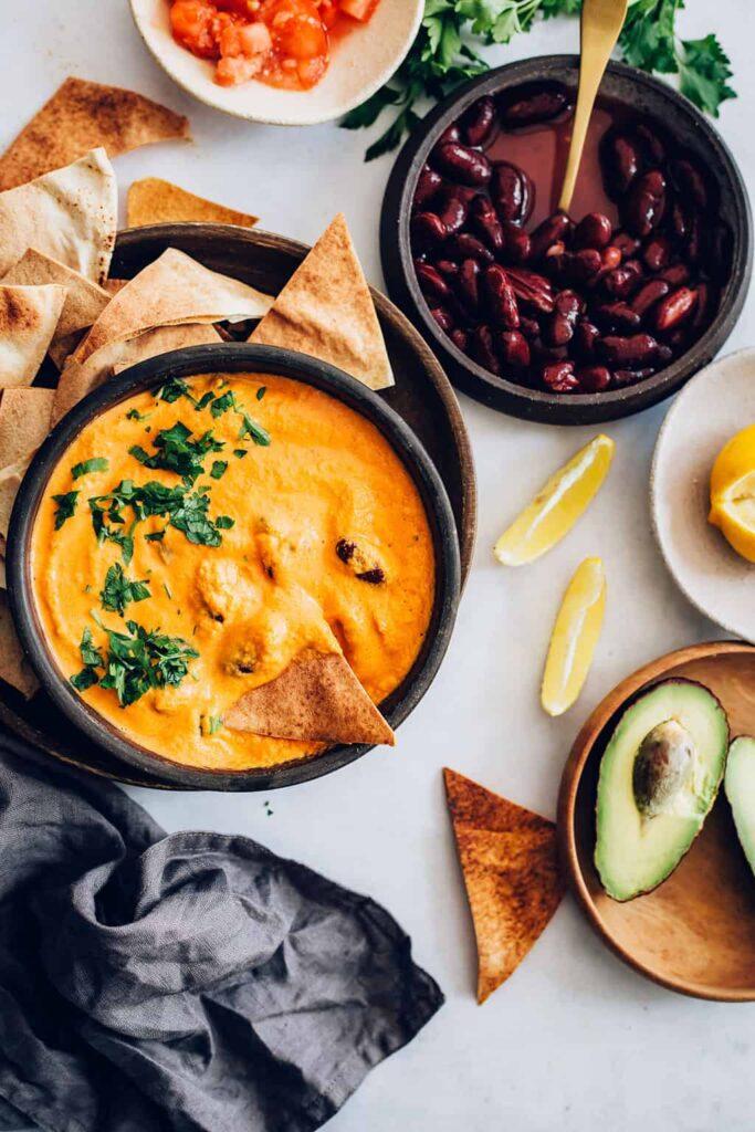 5 Ingredient Vegan Cheese Sauce