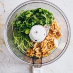 Zucchini Fettuccine with Cilantro Pesto - HelloVeggie.co