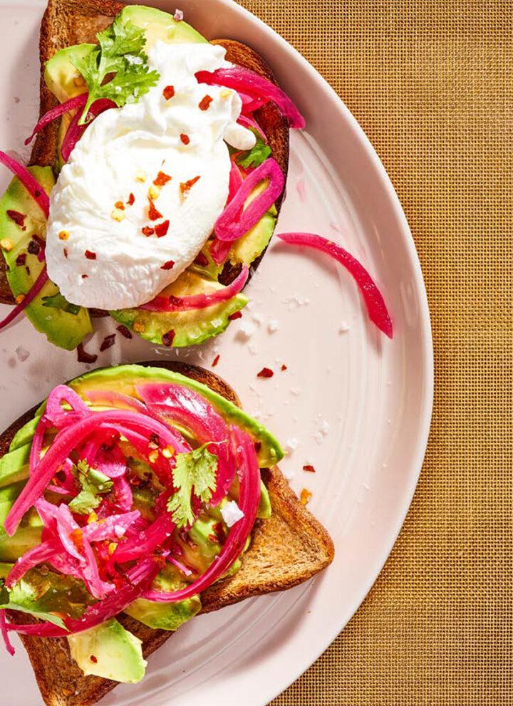Simply Glorious Avocado Toast - HelloVeggie.co