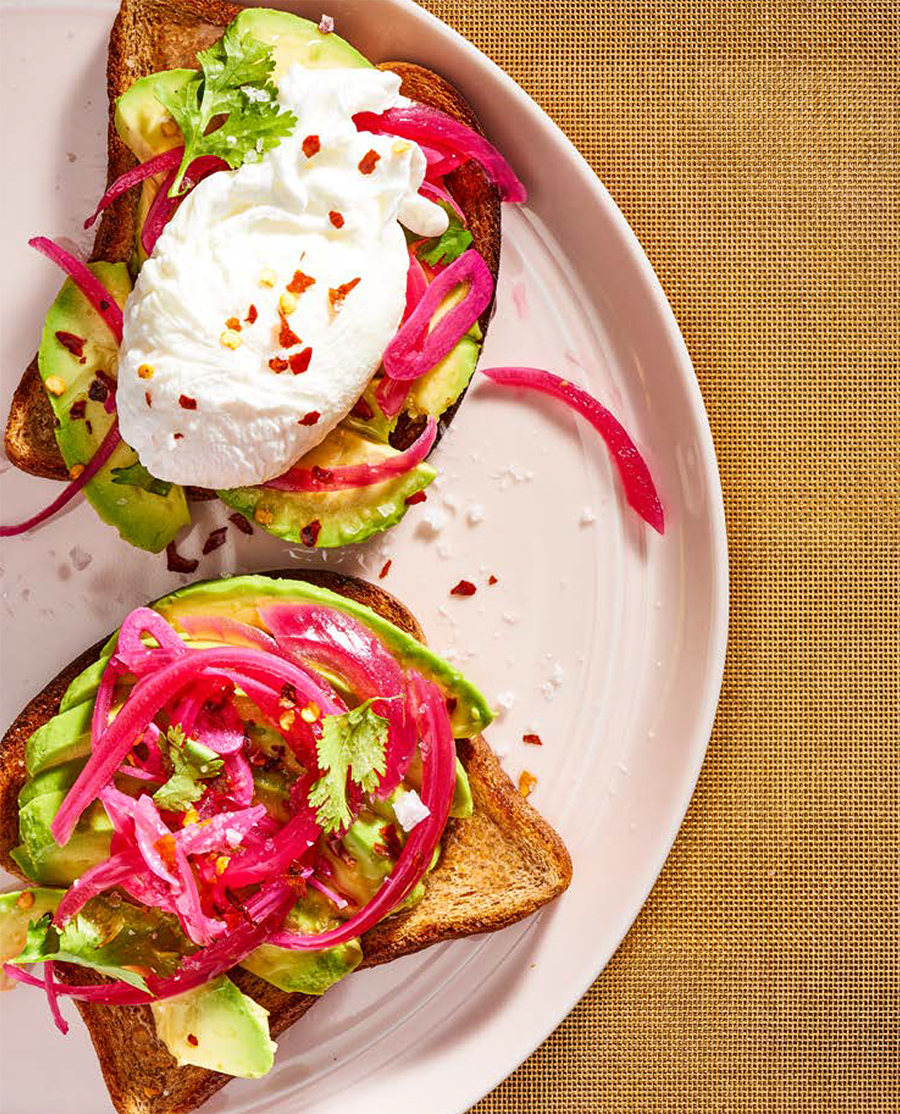 Simply Glorious Avocado Toast - HelloVeggie.co