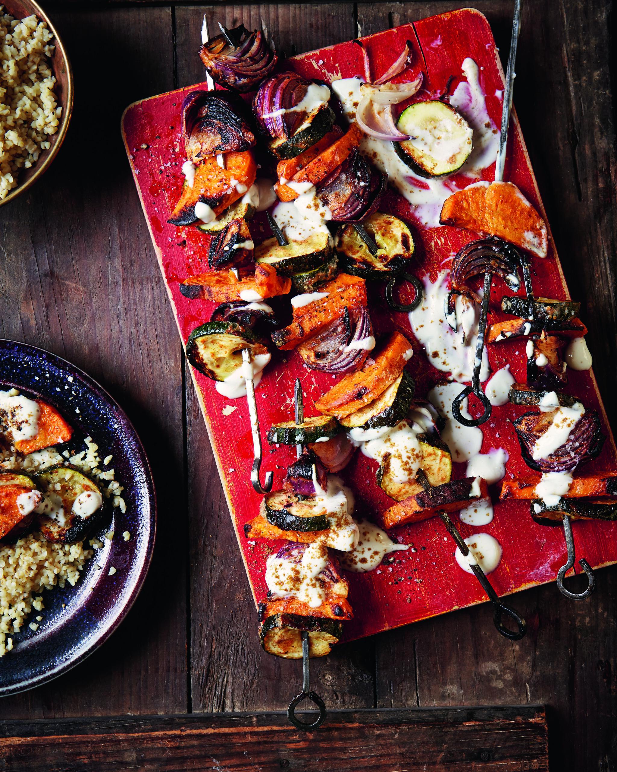 Easy Tandoori Veg Kebab Recipe - HelloVeggie.co