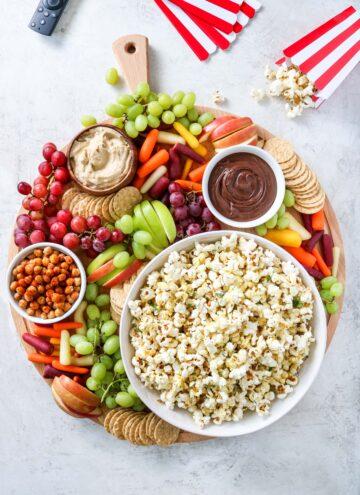 Family Movie Night Vegan Board - Hello Veggie