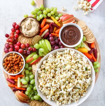 Family Movie Night Vegan Board - Hello Veggie