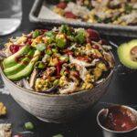 All-in-One Breakfast Sheet Pan Bowls - Hello Veggie